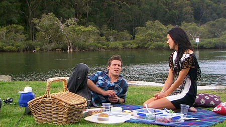 Charlie and Brax, cute moment.