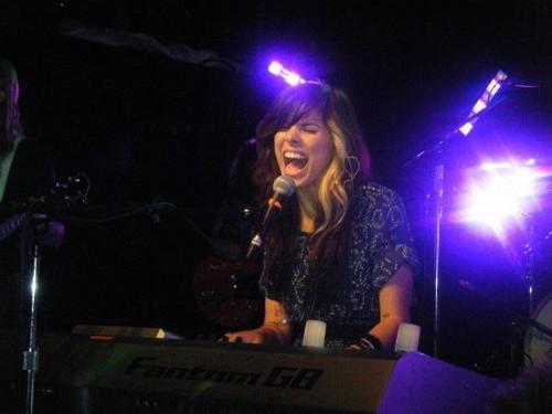 Christina Perri live