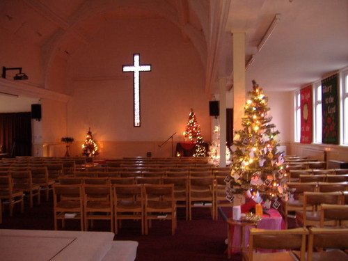 Church Scenes at Krismas