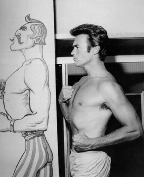 Clint Eastwood Young