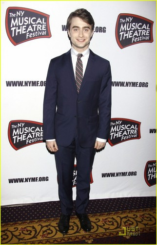 Dan attends The NY Musical Theatre Festival's Awards Gala