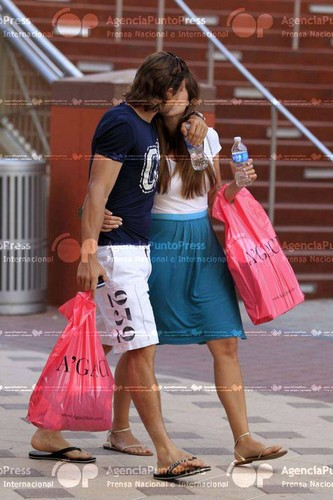 David Ferrer and girlfriend