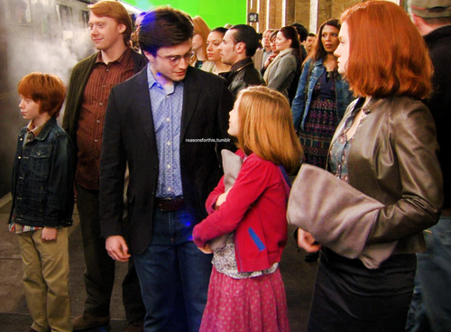 Deathly Hallows Behind the Scenes