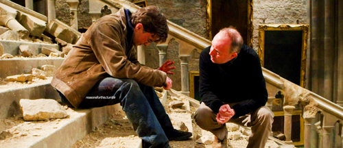Harry Potter achtergrond entitled Deathly Hallows Part 2 [Behind the Scenes]