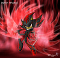 Demon Shadow - shadow-the-hedgehog photo