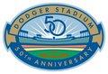 Dodger Stadium 50 Year Anniversary Logo