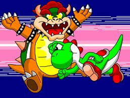 Don't mock me,Bowser.Hiyahhhh!!!!!!!!