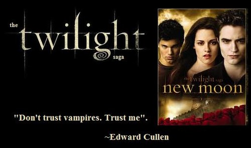 Twilight Quotes images Don't trust vampires wallpaper and ...