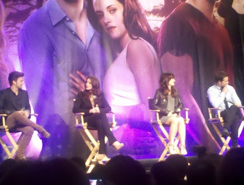 Elizabeth at The Official 'Breaking Dawn' Twilight Convention in L.A (Nov. 5)