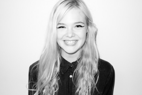Elle Fanning by Terry Richardson