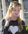 Elle Fanning leaving a Hair Salon in West Hollywood, Nov 7 - elle-fanning photo