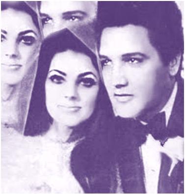 Elvis and Priscill