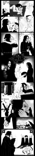 西弗勒斯·斯内普 壁纸 entitled Emily Brown and Severus Snape 2