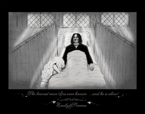 Emily and Severus - The bravest man...