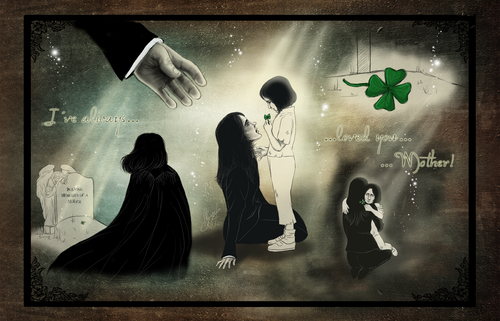 Severus Snape wallpaper titled Severus and Eileen