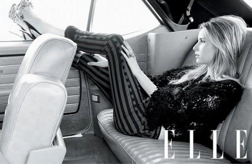 Emma Roberts Elle Photoshoot