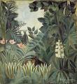 Equatorial - Henri Rousseau