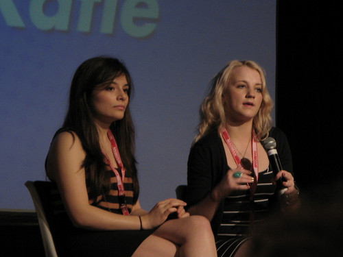 Evanna and Georgina Leonidas at Supanova 2011 [11.5.2011 in Queensland, Australia]