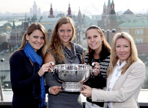 Fed Cup winner czech team