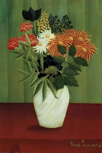 फूल Green - Henri Rousseau