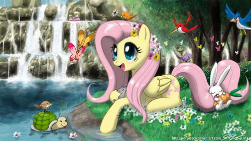 Fluttershy! :D