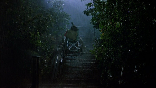 Jason Voorhees wallpaper possibly containing a mountain bike, a bicycling, and a cycling called Friday the 13th Part 2