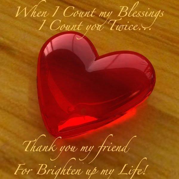 Friendship cœur, coeur for Berni