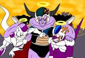 Frieza, King Cold, and enfriador, refrigerador again
