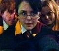 Ginnifer , Josh and Jen Morrison as Harry/Ron/Hermione