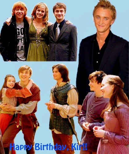 Leyton Family<3 wallpaper possibly with a well dressed person and a portrait titled Happy *early or late or just right on time, depends on when you see this* Birthday, Kir <3