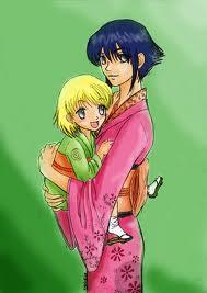 Hinata and नारूटो child