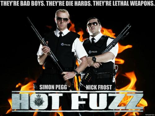Hot Fuzz Wallaper