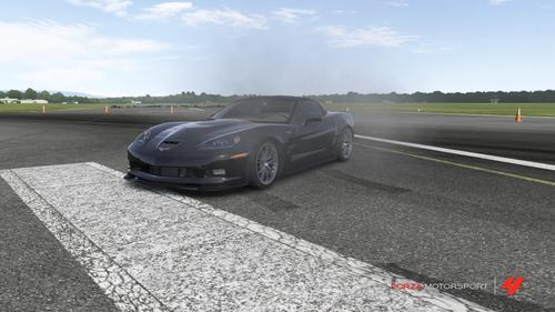 Hutch's Chevy Corvette ZR1