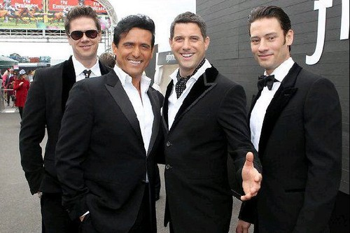 Il Divo wallpaper possibly with a business suit and a suit entitled Il Divo - Wicked Game