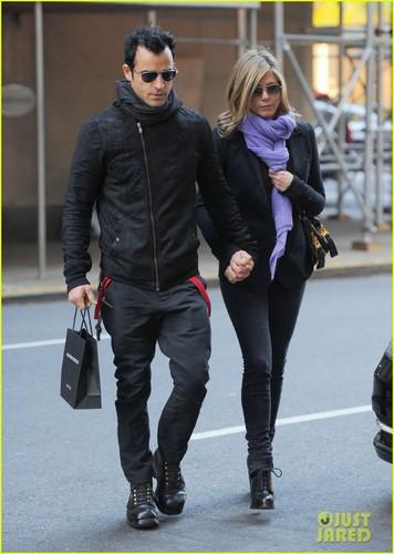 Jennifer Aniston & Justin Theroux: Madison Mates