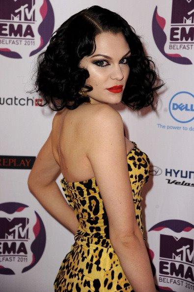 Jessia J @ the 2011 EMA's