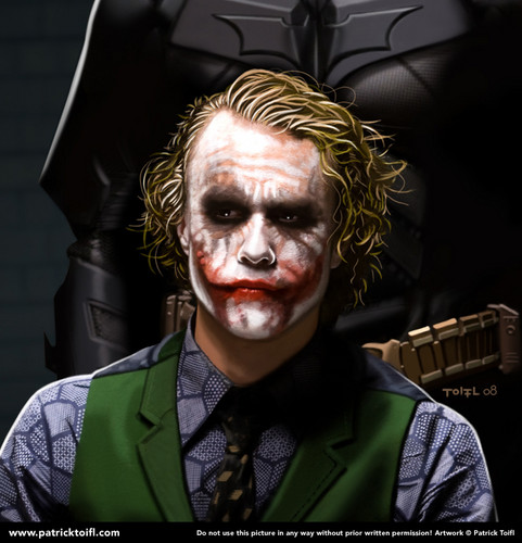 Joker wallpaper probably containing a business suit entitled Joker