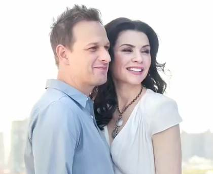 The Good Wife 壁紙 with a portrait titled Julianna and Josh Tv Guide Magazine Photoshoot