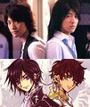 Jun and Takahiro = Lelouch and Suzaku