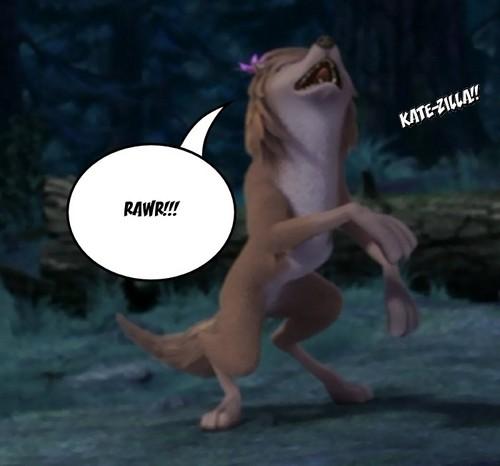 KATE-ZILLA!