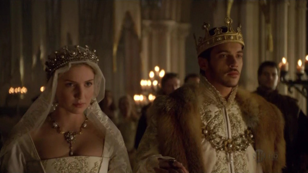 King Henry VIII & queen Jane Seymour