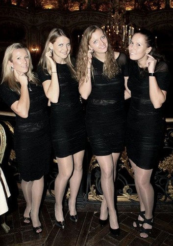 Kvitova and Fed cup team