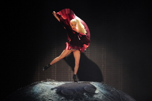"""Lady Gaga Performing """"Marry the Night"""" at the MTV EMA"""