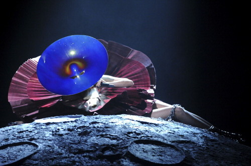 "Lady Gaga Performing ""Marry the Night"" at the MTV EMA"