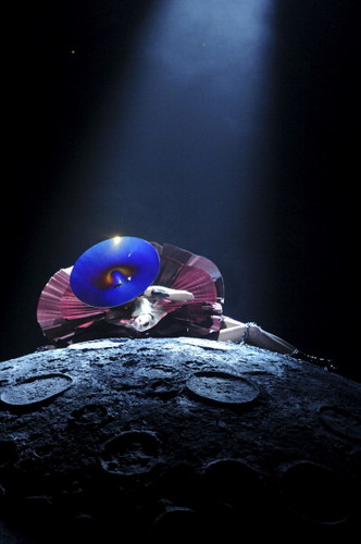 "Lady Gaga wallpaper probably containing a glory hole titled Lady Gaga Performing ""Marry the Night"" at the MTV EMA"
