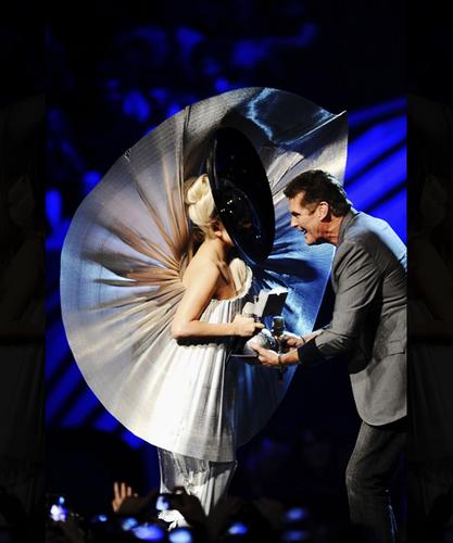 Lady Gaga at the EMAs