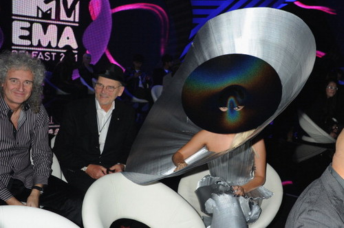 Lady Gaga at the EMAs