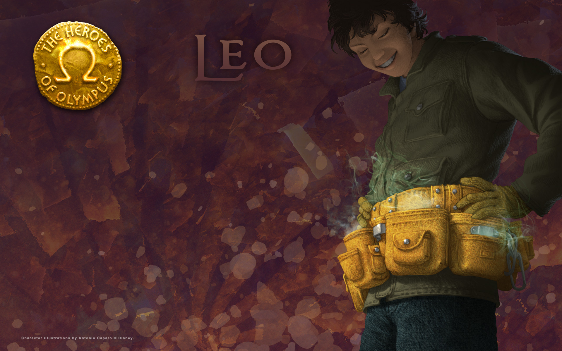 Couples of Percy Jackson Series images Leo HD wallpaper ...