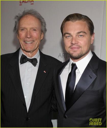 Leonardo DiCaprio & Clint Eastwood @ the 2011 LACMA Gala