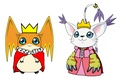 Lord Patamon and Lady Gatomon - digimon fan art